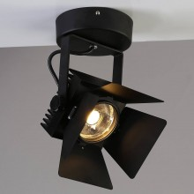 Спот светодиодный Favourite 1770-1U Projector черный 20 Вт 4000К