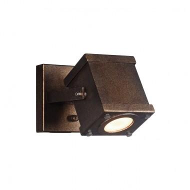Спот в стиле Лофт Favourite 2037-1W Foco коричневый