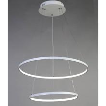 Люстра подвесная светодиодная Favourite 1765-10P Giro White белый 80 Вт