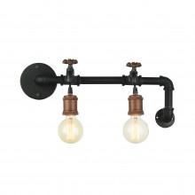 Бра в стиле Лофт Favourite 1581-2W Faucet черный