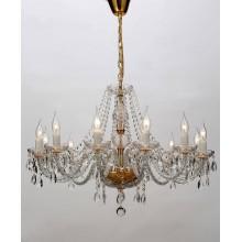 Люстра подвесная Favourite 1735-12P Monreal золото
