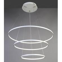 Люстра подвесная светодиодная Favourite 1765-18P Giro White белый 146 Вт