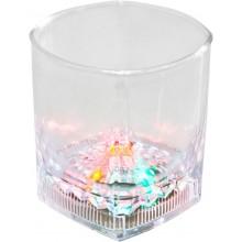 """Декоративный светодиодный светильник """"Стакан"""" Feron FL103 8,2*8,2*9cm 5LED RGB (арт. 06150)"""