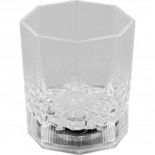 """Декоративный светодиодный светильник """"Граненый стакан"""" Feron FL105 6,8*6,8*8cm 5LED RGB (арт. 06255)"""