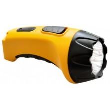 Аккумуляторный ручной фонарь Feron TH2293 (TH93A) 4 LED DC желтый