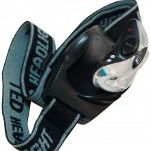 Фонарь на батарейках головной Feron TH2253 0.3W 3LEDs черный