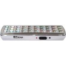 Аккумуляторный светильник Feron EL115 30LED DC белый