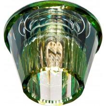 Точечный светильник Feron JD150 JCD9 35W G9 прозрачный желтый ( с лампой ) (арт. 18777)