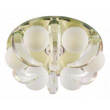 Точечный светильник Feron CD2530 JCD9 35W G9 прозрачный-матовый желтый ( с лампой ) (арт. 18791)