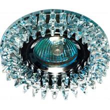 Точечный светильник Feron CD2540 MR16 50W G5,3 прозрачный, хром (арт. 18925)