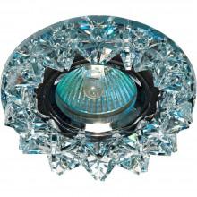 Точечный светильник Feron CD2542 MR16 50W G5,3 прозрачный, хром (арт. 18929)
