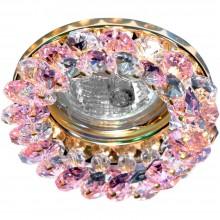 Точечный светильник Feron CD4141 MR16 50W G5.3 розовый, золото (арт. 19291)