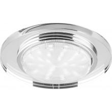 Точечный светильник Feron 4060-2 11W 230V GX53, без лампы, прозрачный (арт. 20157)