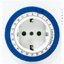 Розетка с таймером Feron 61923/TM32 3500W/16A 230V