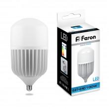 Промышленная светодиодная лампа Feron LB-65 100 Вт 230V E27-E40 6400K 25827