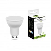 Лампа светодиодная Feron LB-560 9W 230V GU10 4000K MR16 (арт. 25843)