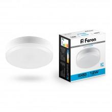 Светодиодная лампа Feron LB-453 12W 230V GX53 6400K для натяжных потолков (арт. 25868)