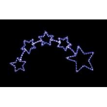"""Световая фигура """"Звездопад"""" Feron LT010 73*153cm 336LED синий (арт. 26708)"""