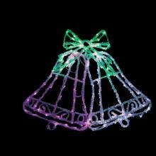 "Световая фигура ""Кокольчики"" Feron LT012 59*46cm 126LED (арт. 26710)"