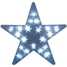 """Световая фигура """"Звезда 3D"""" Feron LT027 35*35*8cm 15LED белый (арт. 26725)"""