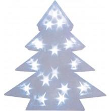 """Световая фигура """"Звезда 3D"""" Feron LT028 34*42*8cm 15LED белый (арт. 26726)"""