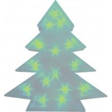 """Световая фигура """"Звезда 3D"""" Feron LT028 34*42*8cm 15LED зеленый (арт. 26798)"""