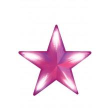 """Световая фигура """"Звезда"""" Feron LT030 51*51cm 70LED красный (арт. 26799)"""