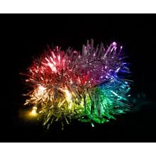 "Гирлянда светодиодная ""Мишура серебро"" Feron CL404 2m 20LED RGB (арт. 26812)"