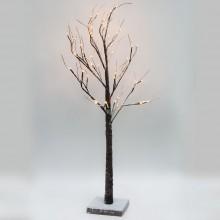 Световое дерево в инее Feron LT043 120cm 48LED теплый белый (арт. 26865)