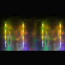 "Гирлянда светодиодная ""Сосульки"" Feron CL115 1,2m 16LED RGB (арт. 26919)"