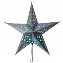 """Световая фигура """"Звезда красная"""" Feron LT101 45*45*6cm 5LED RGB (арт. 26964)"""