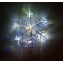"""Световая фигура """"Снежинка"""" Feron LT705 140*45*140мм 8LED RGB (арт. 26982)"""