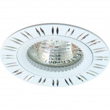 Встаиваемый точечный светильник Feron GS-M393W MR16 50W G5.3 белый 28343