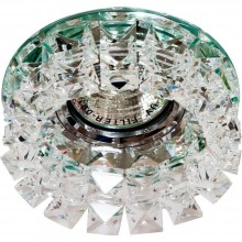 Точечный светильник Feron CD2929 MR16 max50W 12V G5.3 прозрачный (арт. 28417)