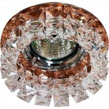 Точечный светильник Feron CD2929 MR16 max50W 12V G5.3 прозрачный коричневый (арт. 28418)
