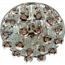 Точечный светильник Feron 1550 JCD9 35W G9 прозрачный-коричневый, прозрачный (арт. 28430)