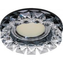 Точечный светильник Feron CD2929 MR16 max50W 12V G5.3 прозрачный черный (арт. 28457)