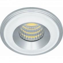 Светодиодный светильник Feron LN003, 3W, 210Lm, 4000К, белый, хром 28776