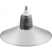 Светодиодный светильник купол Feron AL6005 35W 3150Lm 5000K (в комплекте с отражателем) IP20, 380*380*230мм 28795