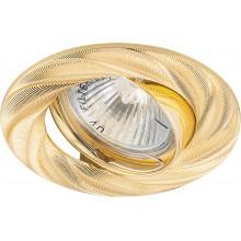 Точечный светильник Feron DL6027 MR16 50W G5.3 золото (арт. 28874)