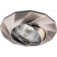Точечный светильник Feron DL6021 MR16 50W G5.3 античное золото (арт. 28879)