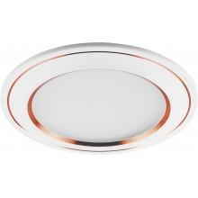 Встраиваемый светодиодный светильник Feron AL650 7W 560Лм 4000К белый с медью (арт. 28932)