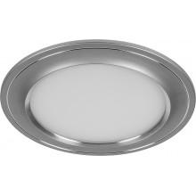 Встраиваемый светодиодный светильник Feron AL650 7W 560Лм 4000К серый (арт. 28933)