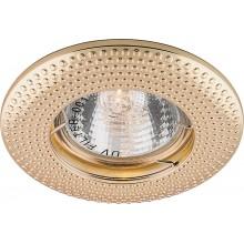 Точечный светильник Feron DL6042 MR16 50W G5.3 золото (арт. 28955)