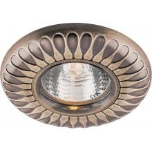 Точечный светильник Feron DL6047 MR16 50W G5.3 античное золото (арт. 28960)