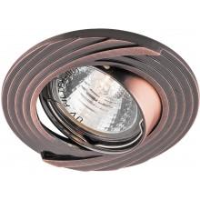 Точечный светильник Feron DL6227 MR16 50W G5.3 античная медь (арт. 28962)