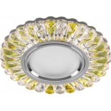 Точечный светильник Feron CD902 MR16 50W G5.3 прозрачный-желтый, хром (арт. 28972)