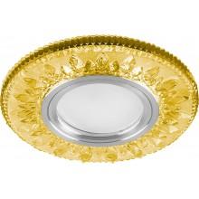 Точечный светильник Feron CD903 MR16 50W G5.3 желтый, хром (арт. 28975)
