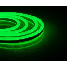 Светодиодная неоновая лента Feron LS720 120SMD(2835)/м 9,6Вт/м 220V IP67 50м зеленый (арт. 29564)