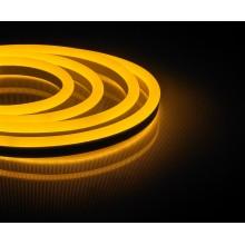 Светодиодная неоновая лента Feron LS720 120SMD(2835)/м 9,6Вт/м 220V IP67 50м желтый (арт. 29565)